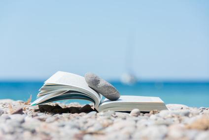Book on the beach