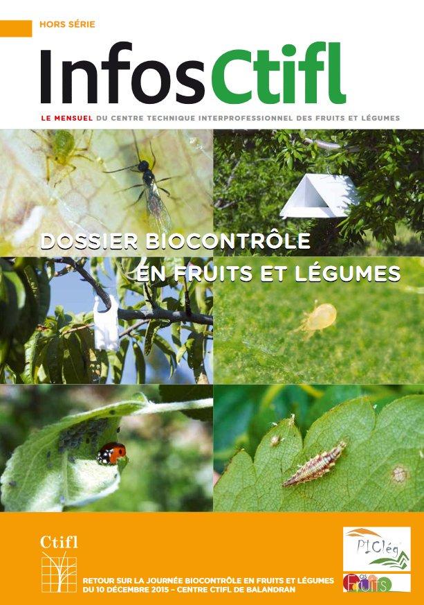 HS infos CTIFL Biocontrôle